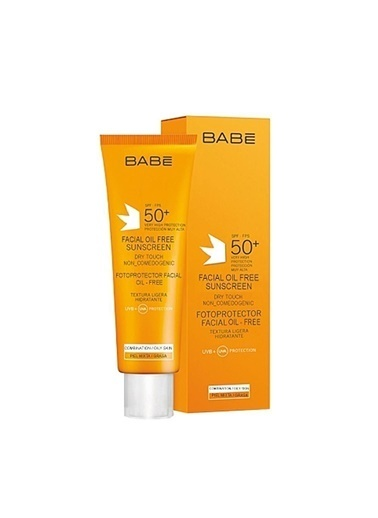Babe BABE Facial Oil-Free Sunscreen Dry Touch SPF50+ 50 ml Renksiz